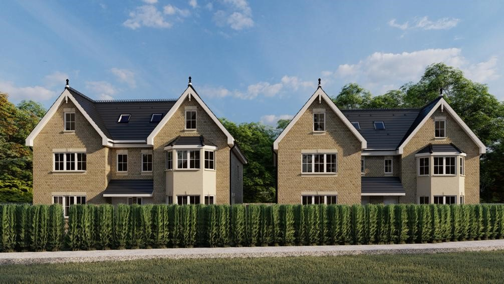 New Homes site in Wokingham, Berkshire