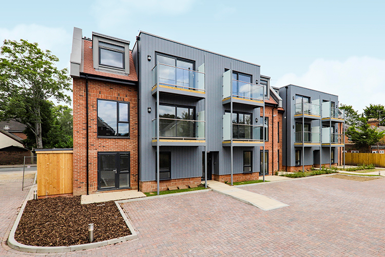Harmans House Development in Bracknell