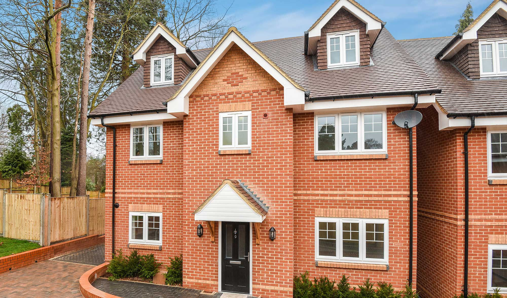 Broadhaven New Homes In Binfield Prospect Estate Agency Detached Full Brick Brand Home On Wiring House To Garage