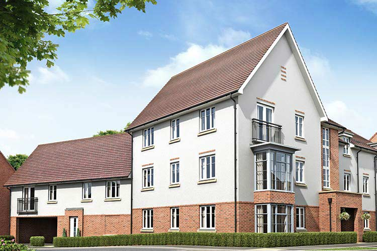 Montague Park Development in Wokingham