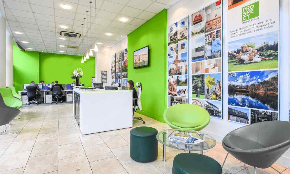 Camberley Estate Agent Interior