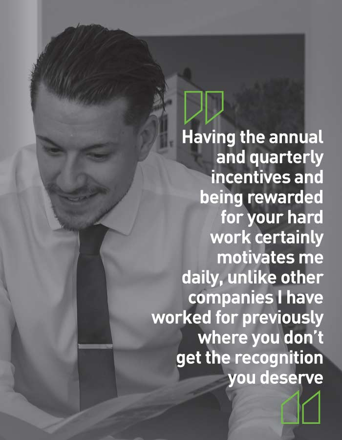 Prospect careers testimonial from current staff