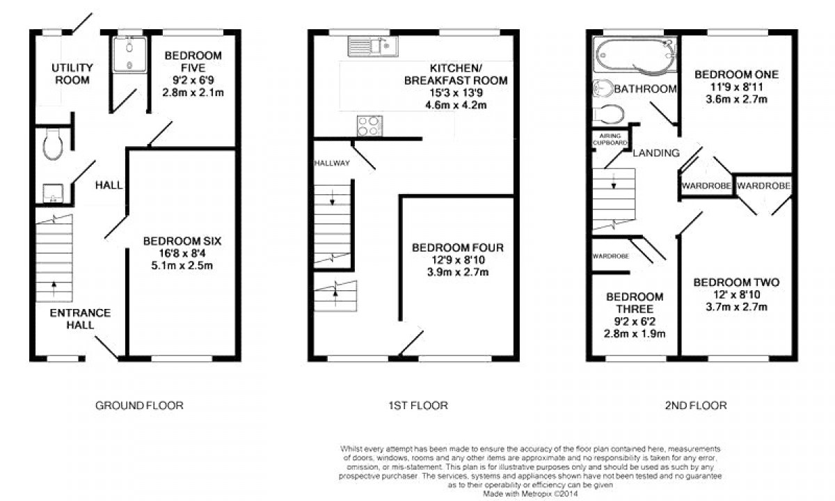 Kenton Close floorplan