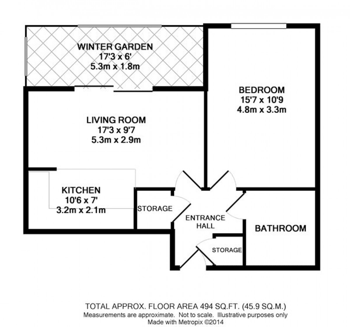 Kennet Street floorplan
