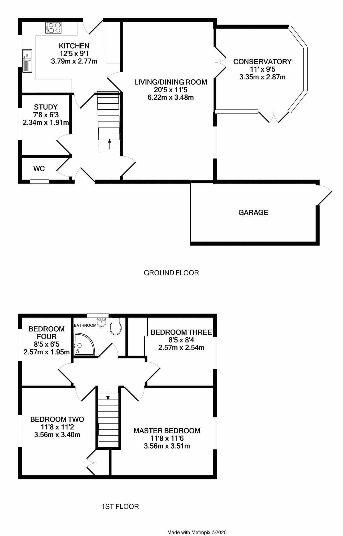 Cambridge Road floorplan