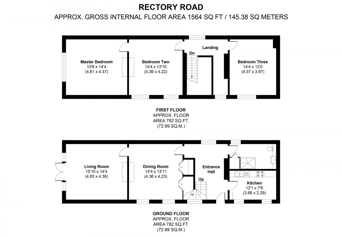 Rectory Road floorplan